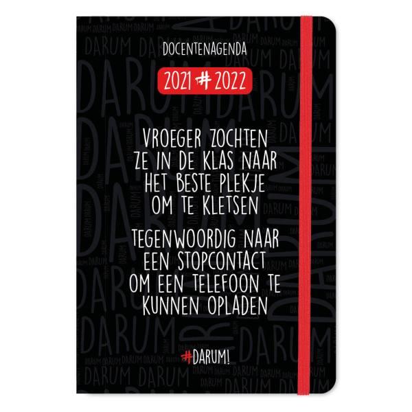 Darum Docentenagenda 2021-2022 - A5