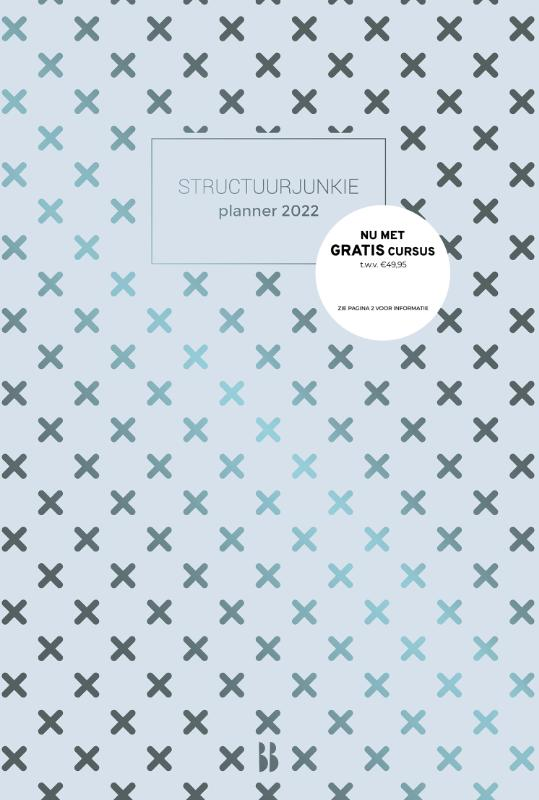 Structuurjunkie - Structuurjunkie planner - 2022 (A4)