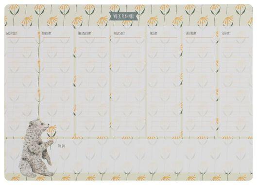 HEMA Weekplanner Magnetisch