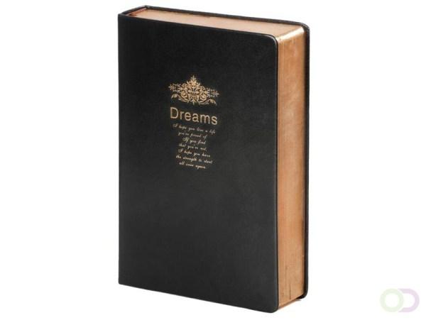 Notitieboek Kalpa Poem 214x145x40mm blanco zwart