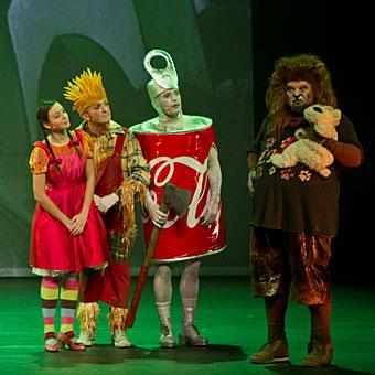 'El mago de Oz' en Basauri