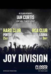 Joy Division 40 years with(out) Ian Curtis