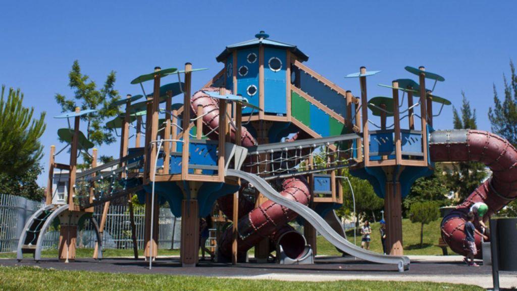 os melhores parques infantil do porto