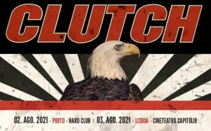 CLUTCH + SPECIAL GUESTS no Hard Club