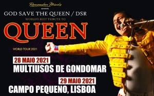 GOD SAVE THE QUEEN - Multiusos de Gondomar
