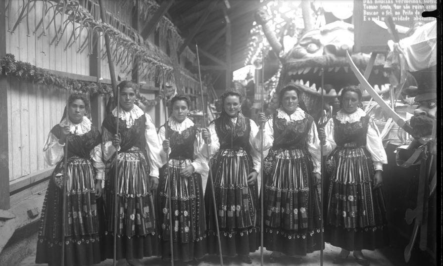 Carnaval de outros tempos no Porto