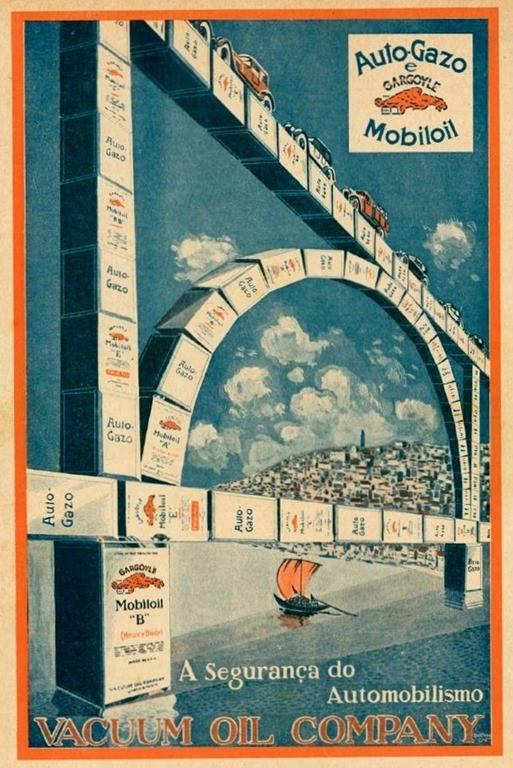 Vacuum Oil Company mais tarde designada de Mobil, em 1926