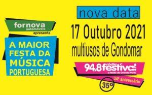 34º ANIVERSÁRIO DA RÁDIO FESTIVAL - MULTIUSOS GONDOMAR