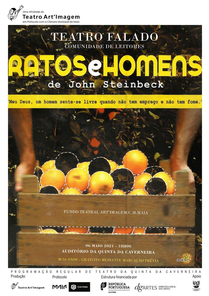 Ratos e Homens de John Steinbeck na Quinta da Caverneira