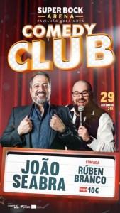Comedy Club – João Seabra e Rúben Branco
