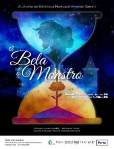 A BELA E O MONSTRO NA BIBLIOTECA MUNICIPAL ALMEIDA GARRET