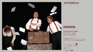 CLOWNS de Giacomo Scalisi no Armazém 22