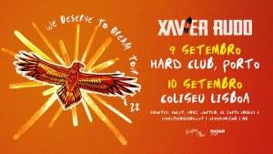 XAVIER RUDD WE DESERVE TO DREAM no Hard Club Porto