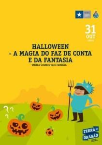 Ofic. Criativa: Halloween– A Magia do Faz de Conta