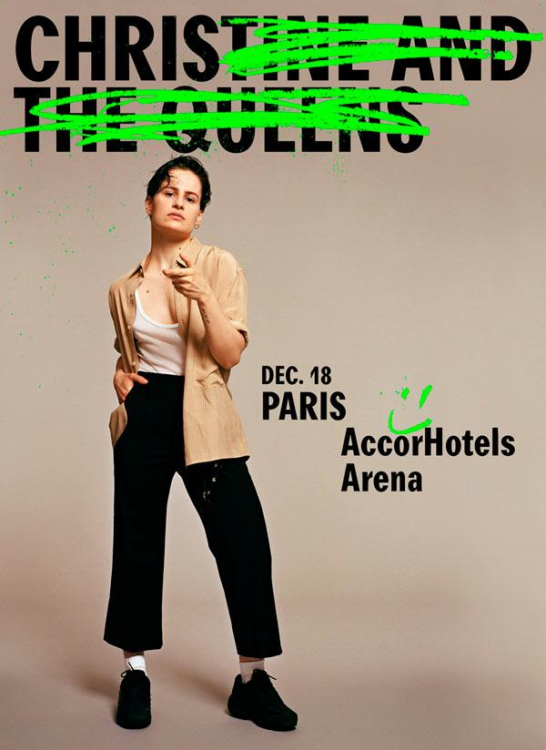 Christine And The Queens Dates De Concerts 2018