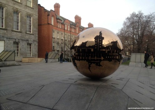 Natale a dublino Trinity College