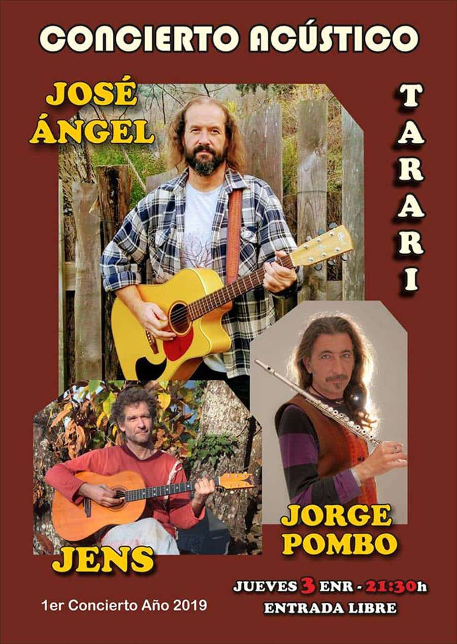 cartel concierto jose angel sala tarari ponferrada el bierzo