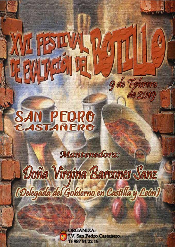 Cartel Botillo San Pedro Castañero