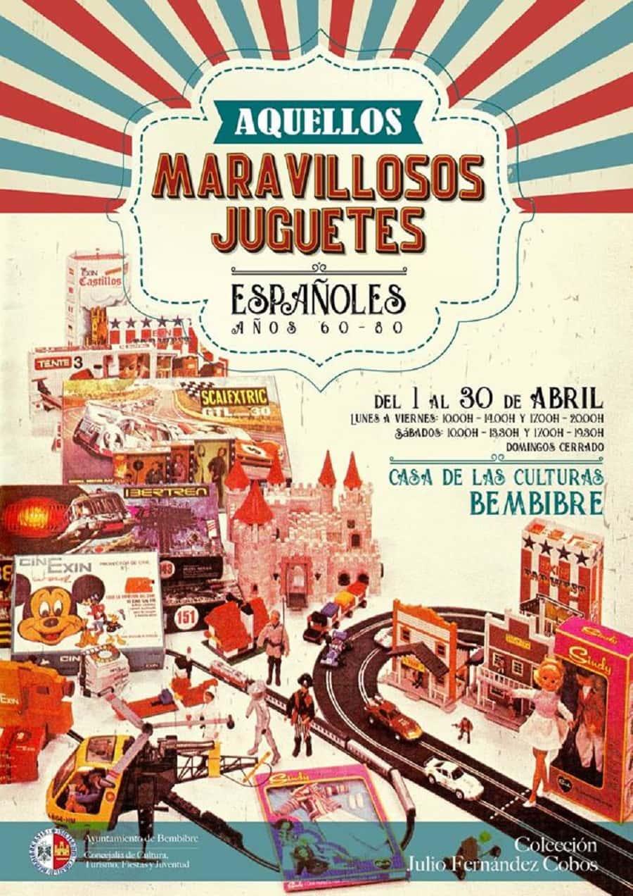 cartel aquellos maravillosos juguetes españoles