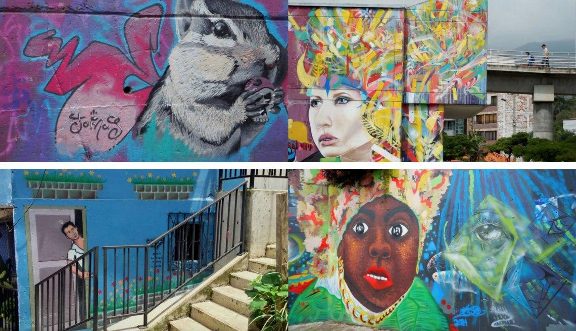 Graffities en Medellín como motor de cambios