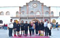 Autoridades municipales inauguraron Torneo de Basquetbol1