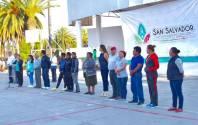 Autoridades municipales inauguraron Torneo de Basquetbol2