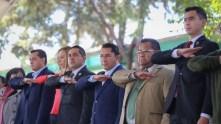 Raúl Camacho encabeza lunes cívico en escuelas de Mineral de la Reforma4