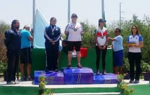 Brenda Merino conquista dos medallas de oro en el Grand Prix de tiro con arco2