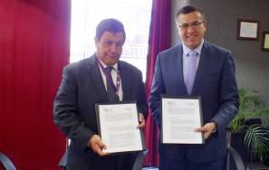 Firman convenio de colaboracion municipio y UPMEH2