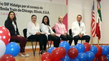 Fundación Smile Train realiza visita a Hospital del Niño DIF1