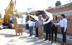 Cambian la línea de agua potable en la calle Vicente Guerrero en Tizayuca3