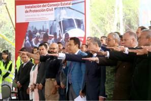 Encabeza Omar Fayad, la instalación del Consejo Estatal de Protección Civil5