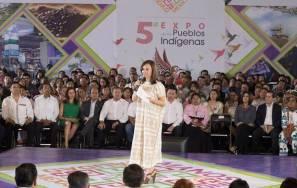 Inició con gran éxito el primer día de la 5a Expo de los Pueblos Indígenas2
