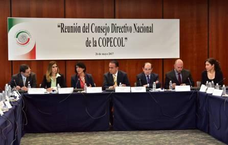Mantiene Hidalgo representación en reuniones del Consejo Directivo Nacional de la Copecol3