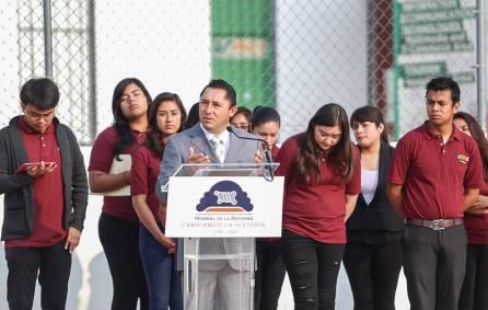 Promueve Mineral de la Reforma actividades cívicas entre la comunidad estudiantil 2