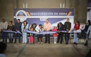 Alcalde de Mineral de la Reforma entrega obra de ampliación de drenaje en la pila 1