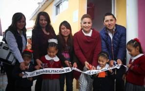 Inaugura alcalde Raúl Camacho rehabilitación de CAIC-Colonia Militar2