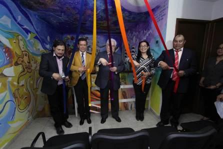 """Inauguran mural """"Disciplina, Ciencia y Servicio"""", en oficinas de la UAEH4"""