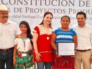 """Nuvia Mayorga Delgado inauguró la Casa del Niño Indígena """"Constitución 1857"""" en Chiapas"""
