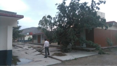 Tornado en Villa de Zaragoza
