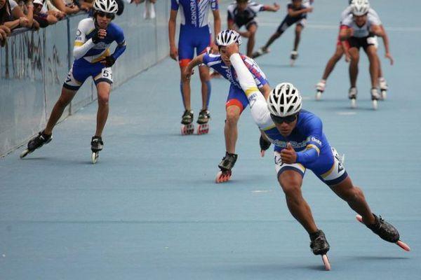 festival de patines sobre ruedas