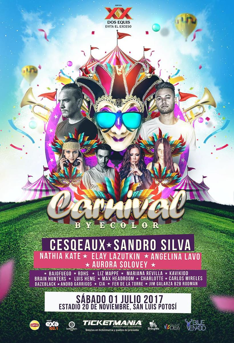 Carnival Bye Color SLP
