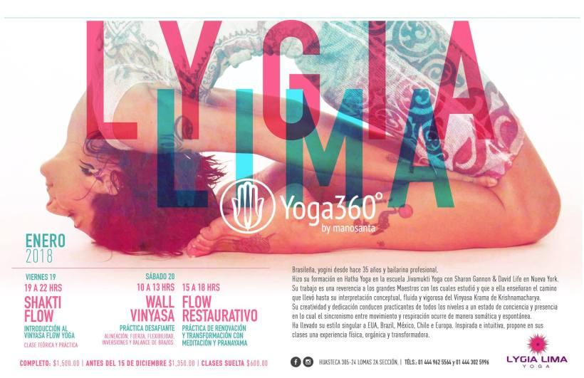 eventos san luis potosi Yoga Lygia lima