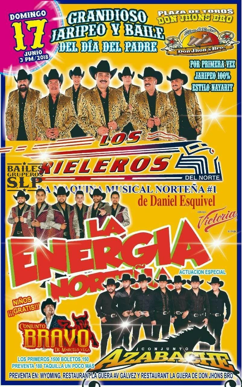 Jaripeo baile Los Rieleros SLP