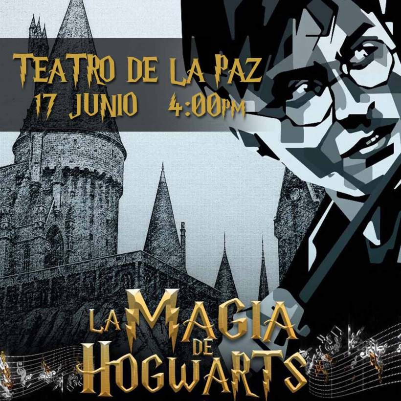 La magia de hogwarts SLP teatro de la paz