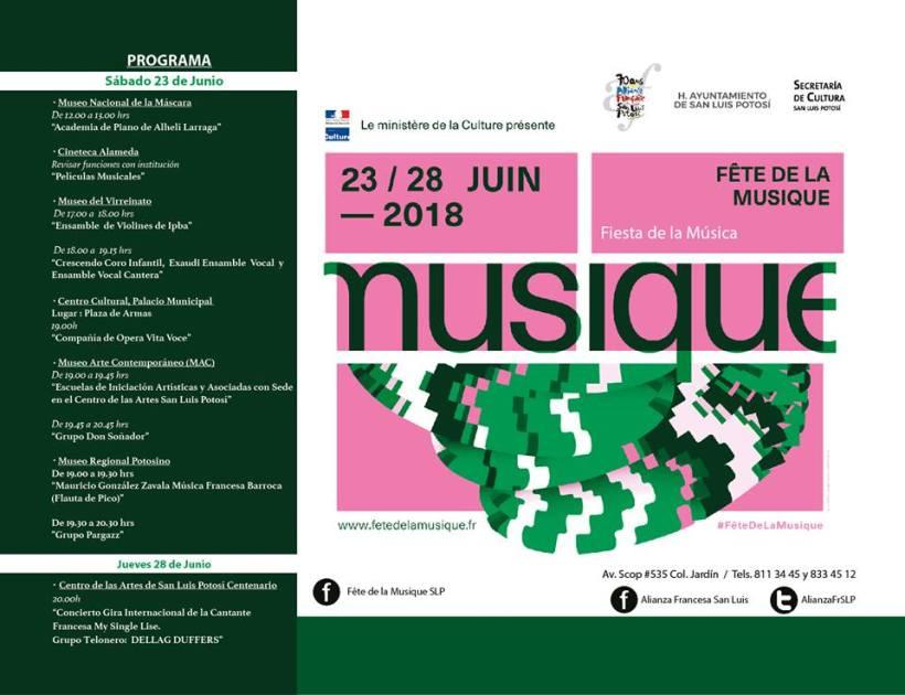 Musique Alianza Francesa SLP
