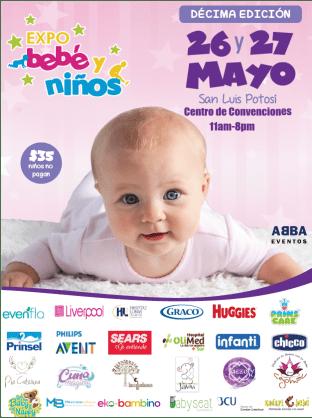 26 y 27 Mayo Expo Bebe y Niños