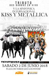 metallica y kiss sinf