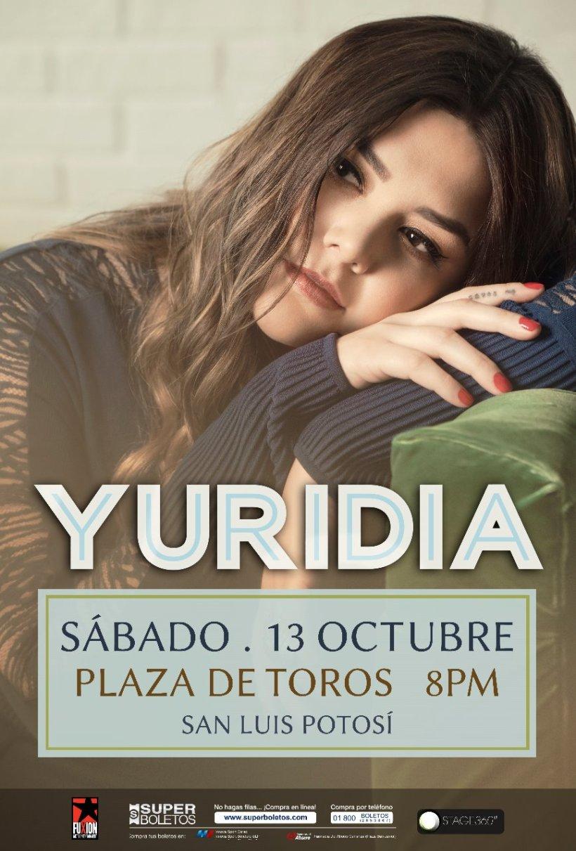 Yuridia San Luis Potosi SLP