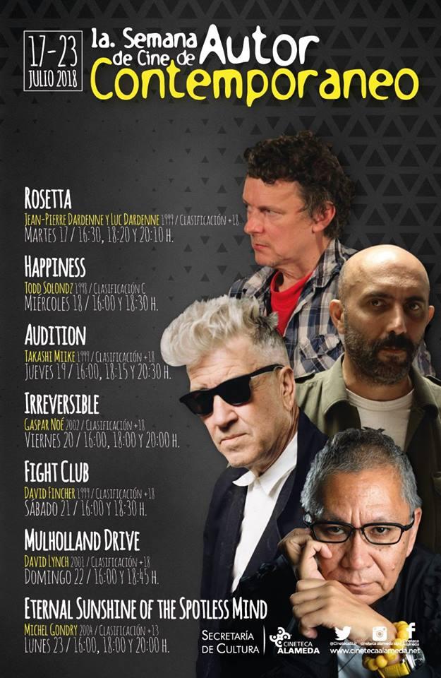 Semana del cine de autor cineteca SLP